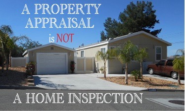 Property Appraisals vs Home Inspections